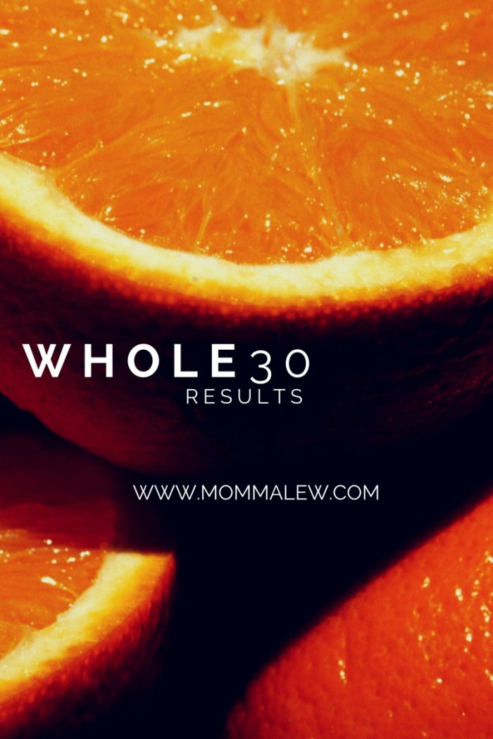 whole30 results