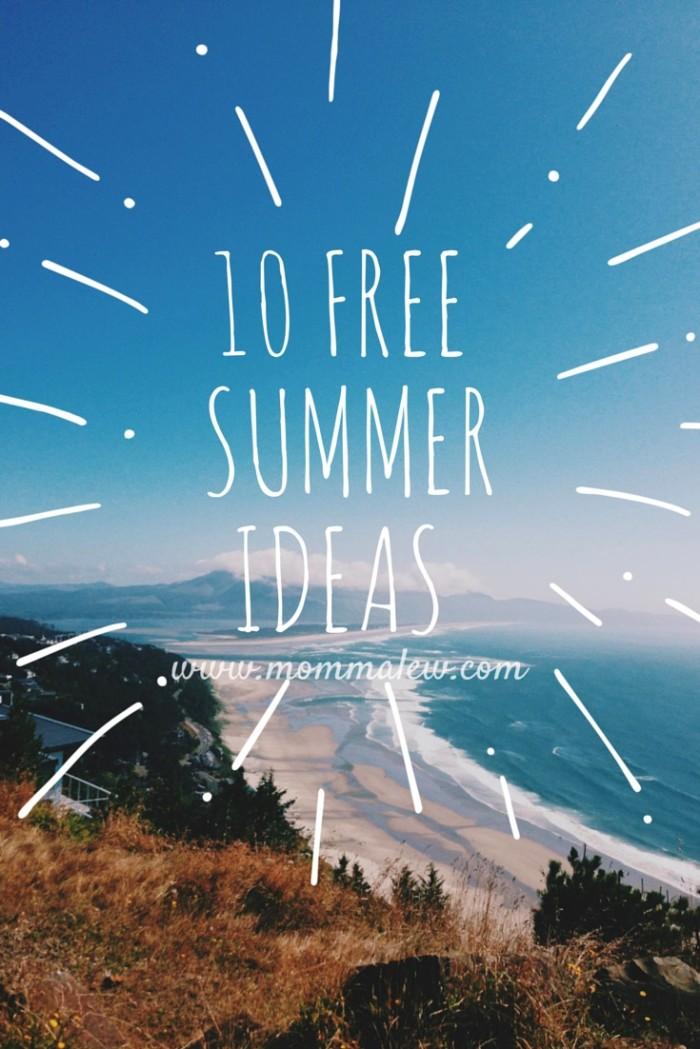 10 free summer fun ideas