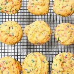 Cake Batter Christmas Cookies