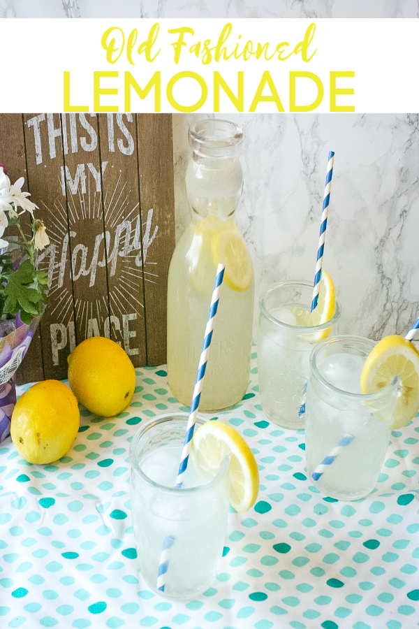 Old Fashion Lemonade Recipe