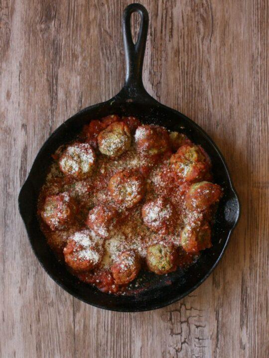 Vegetarian Zucchini Meatballs Recipe