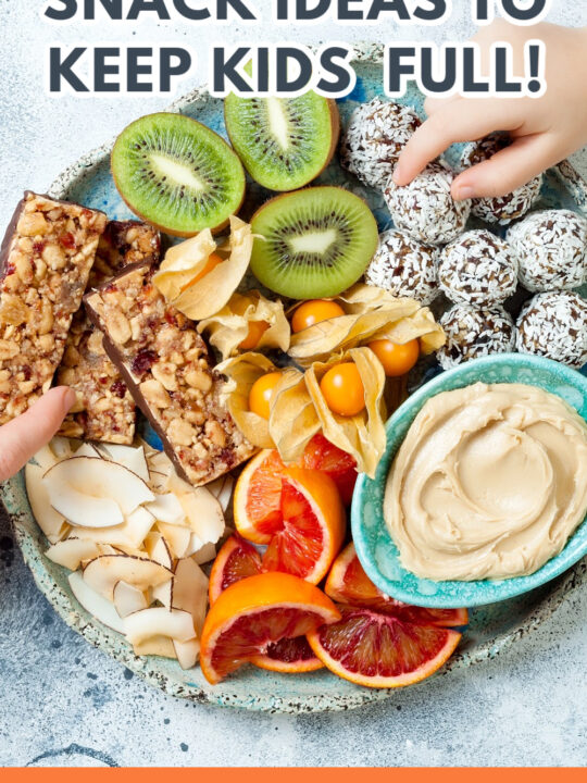 The Best Healthy Snacks for Kids