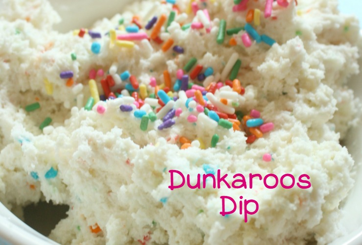 Delicious and Nostalgic cake batter dip recipe