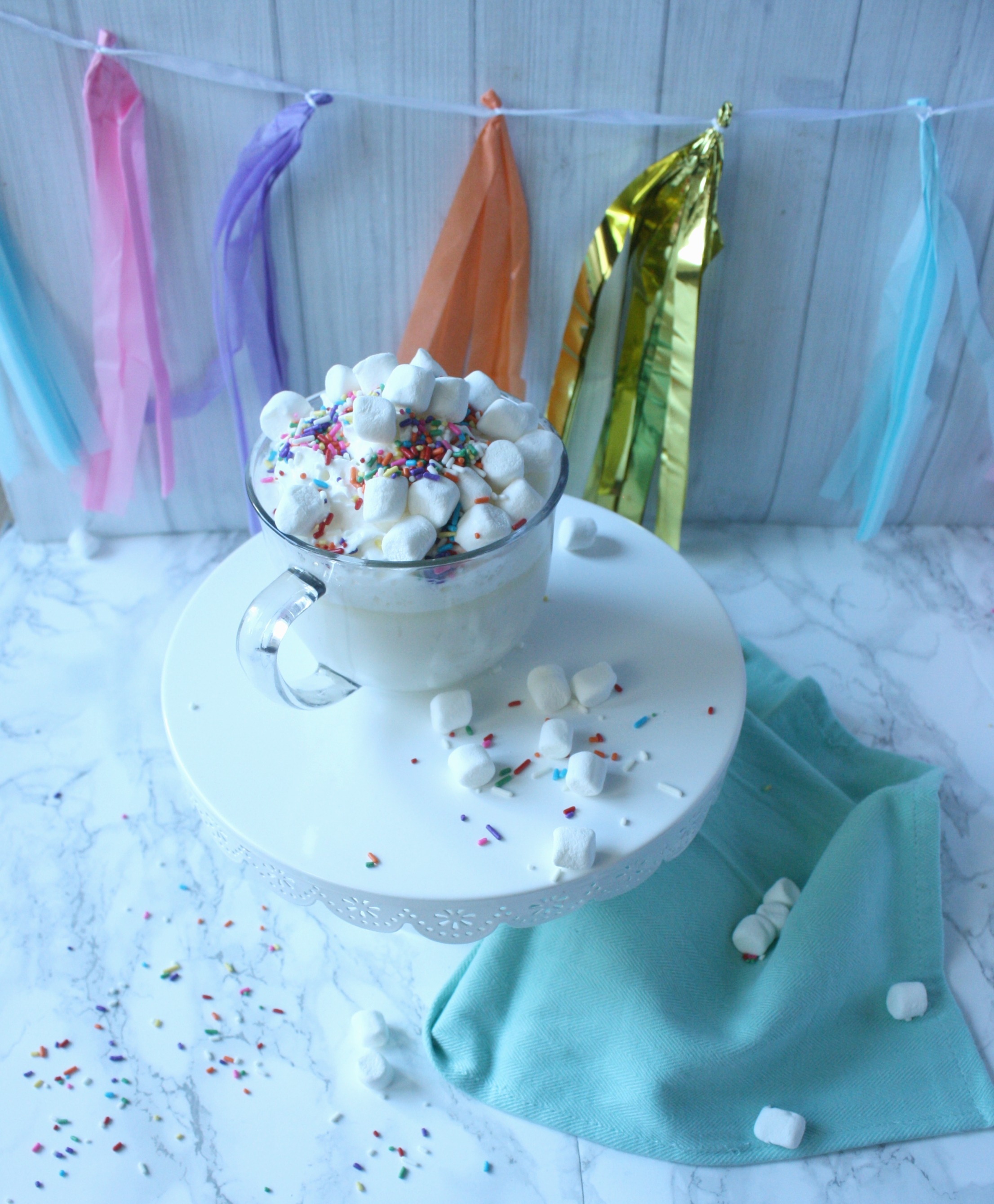 Party Cake Hot Chocolate