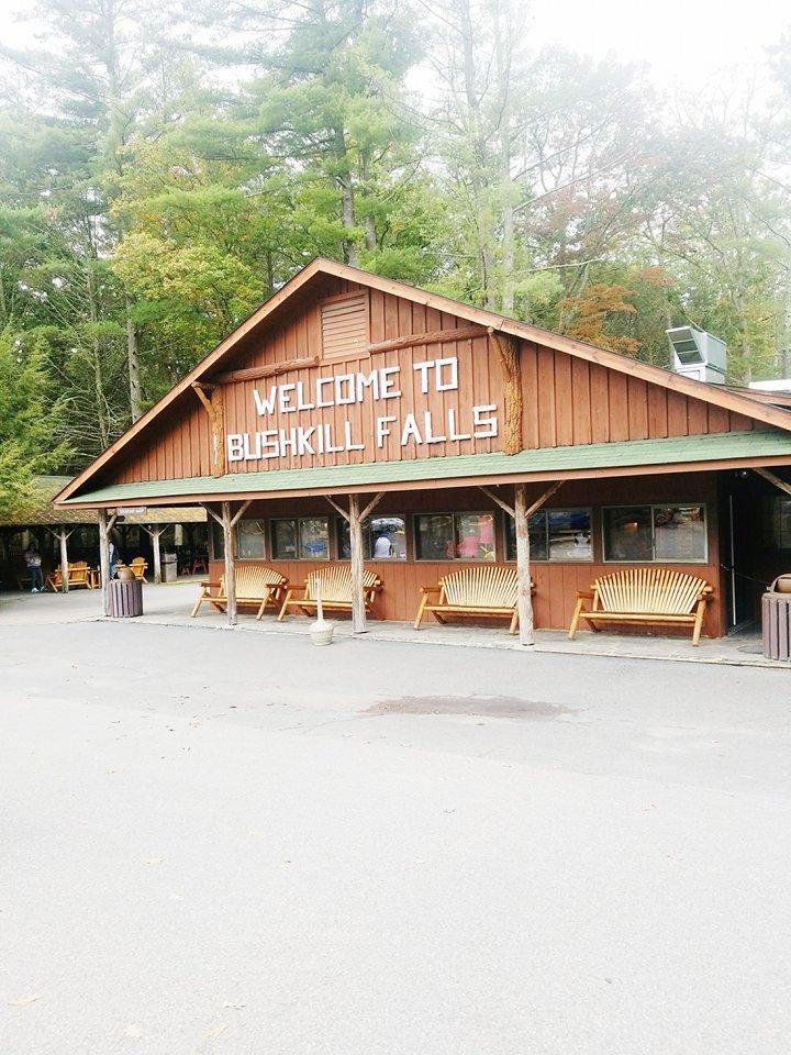 bushkill falls welcome center
