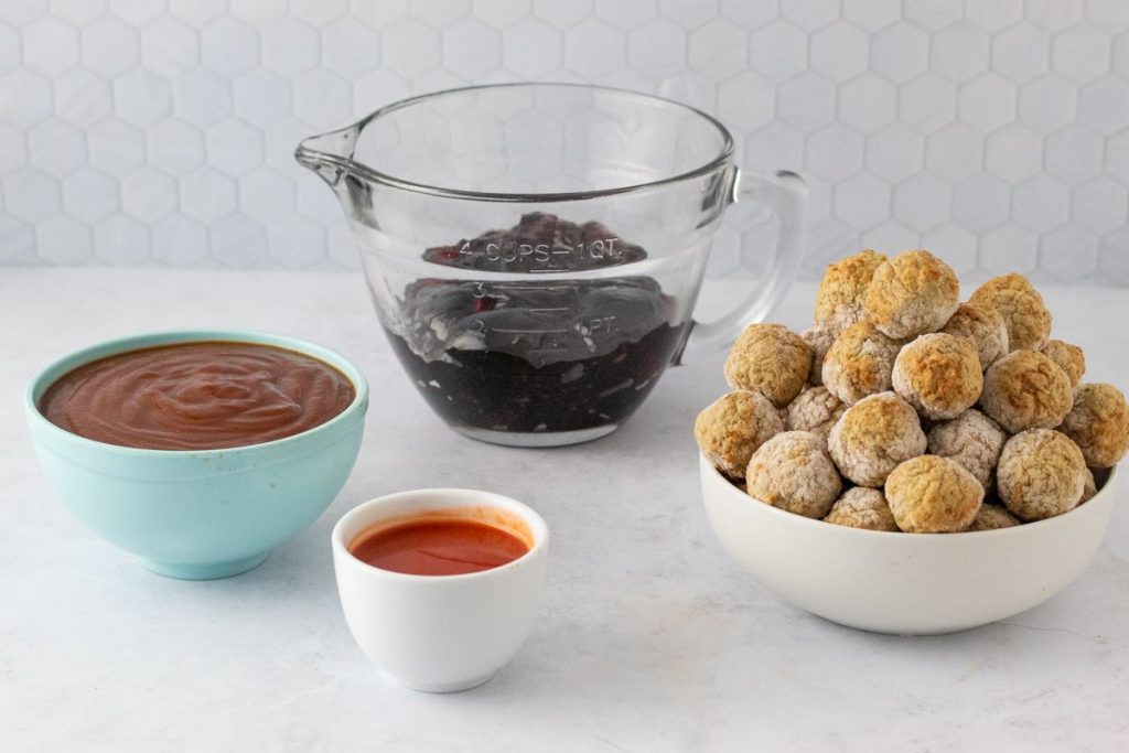 sweet and sour meatballs ingredients