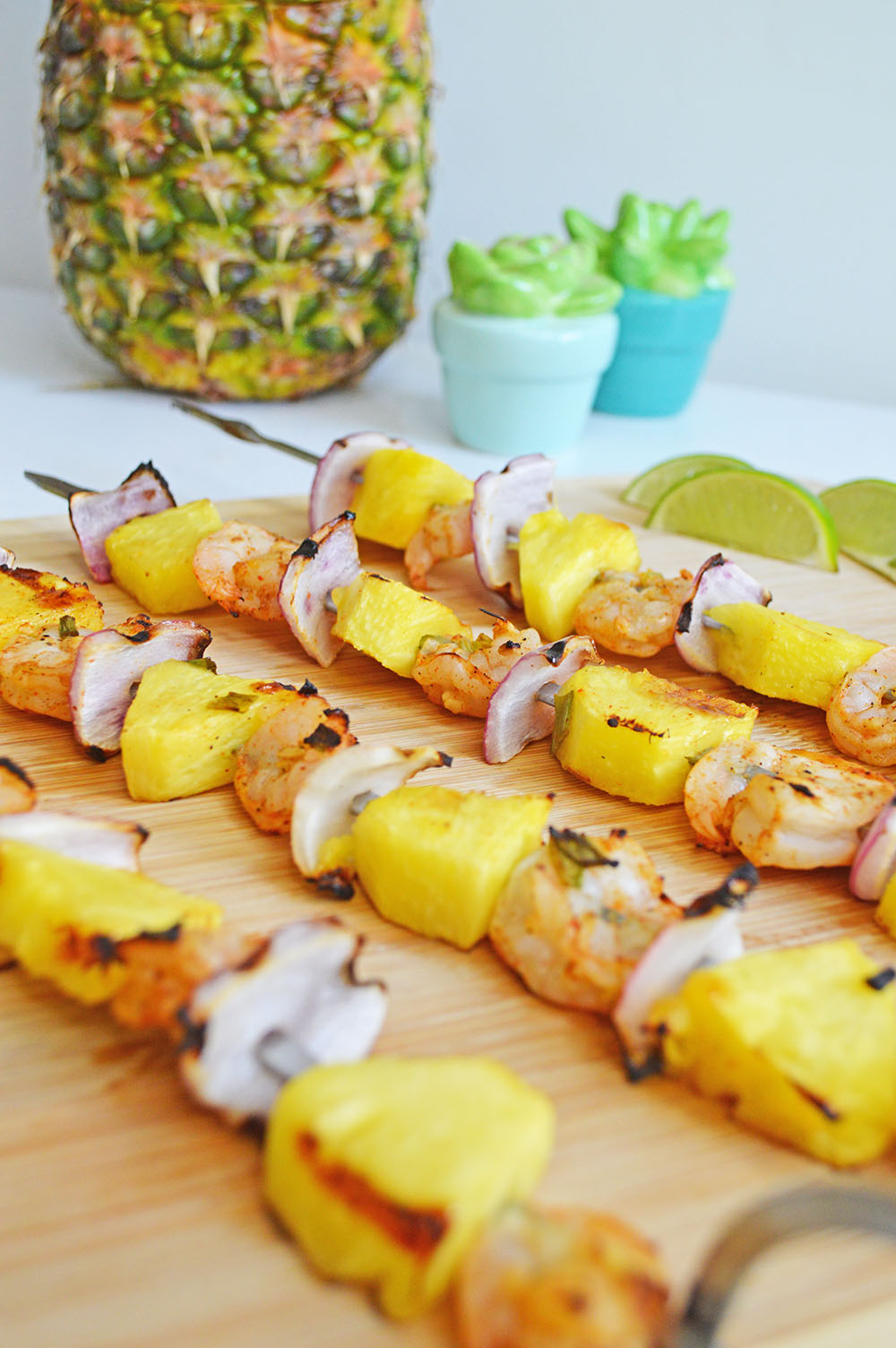 Chili Lime Shrimp Skewers Recipe