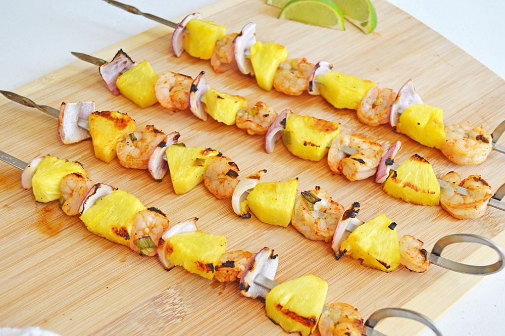 Chili Lime Shrimp Skewers Recipe