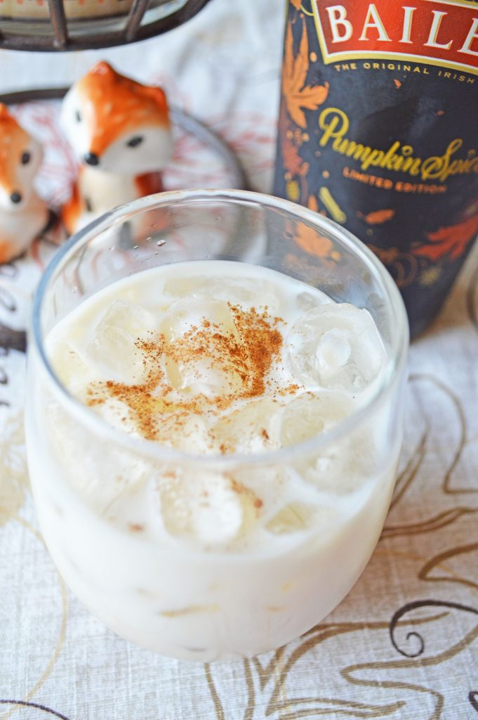 pumpkin spice white russians