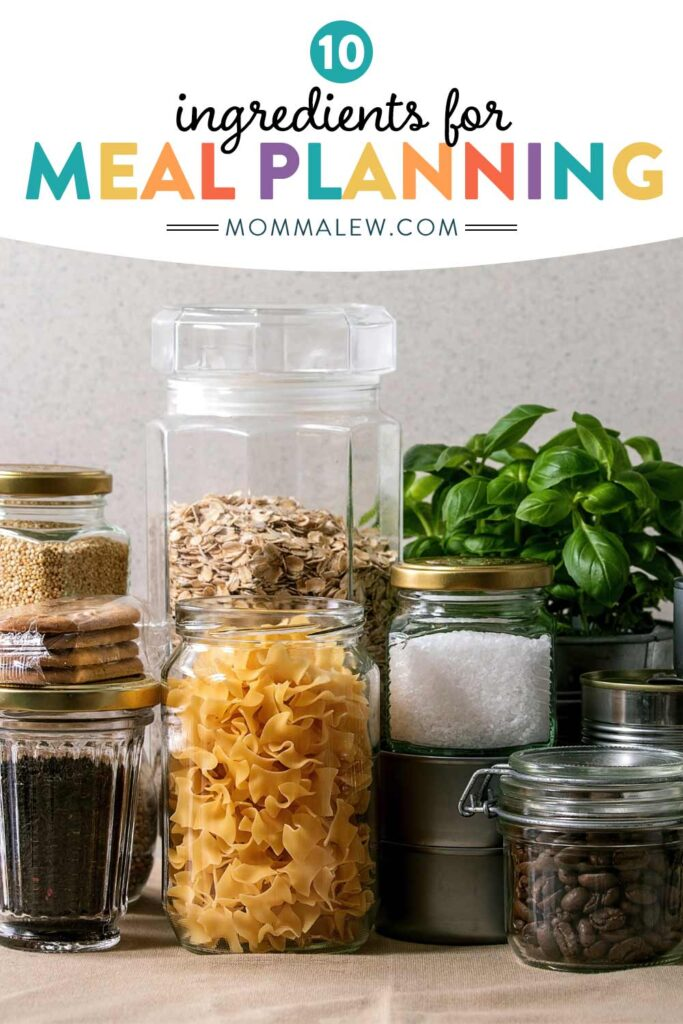 Meal Planning Ingredients