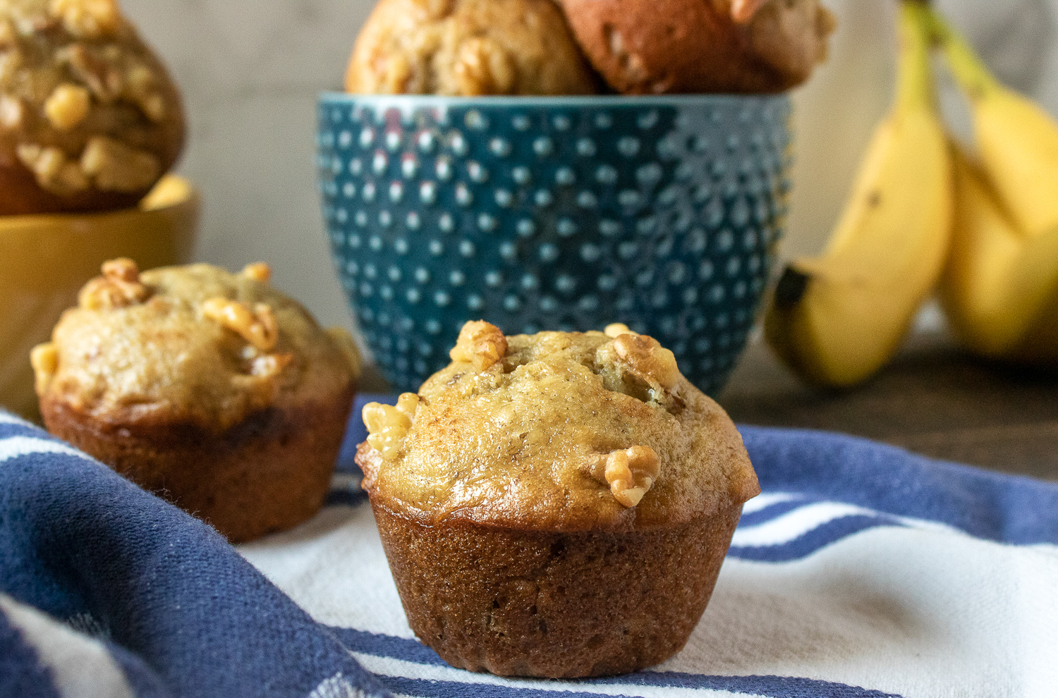 The Best Easy Banana Nut Muffins Recipe