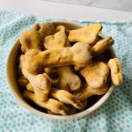 Peanut Butter and Sweet Potato Homemade Dog Treats