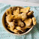 Peanut Butter and Sweet Potato Dog Treats