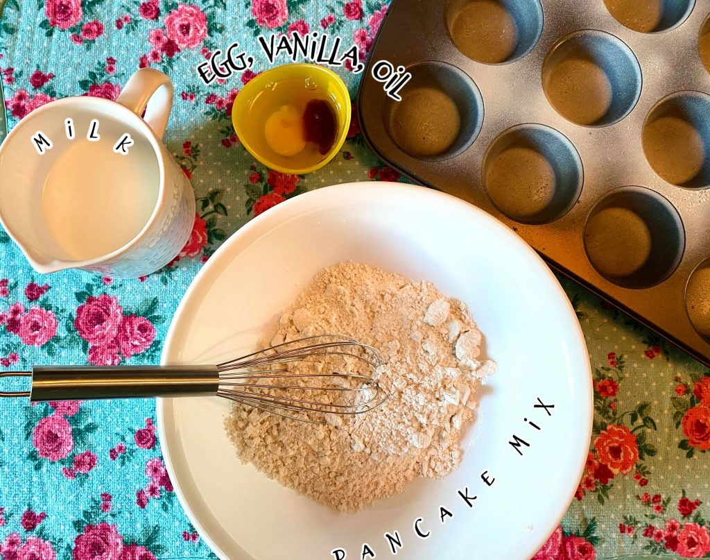 pancake muffin ingredients