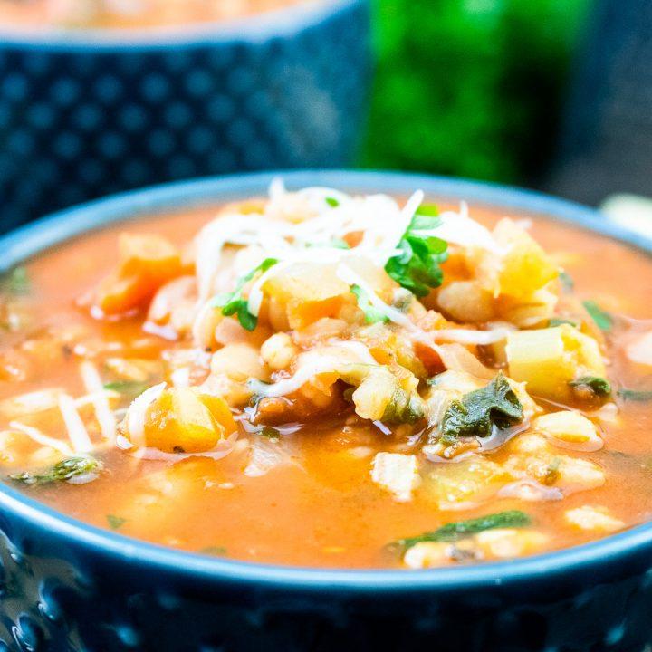 The Best Italian Minestrone Soup Recipe