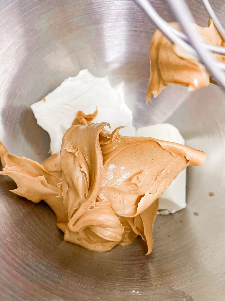 peanut butter and cream cheese