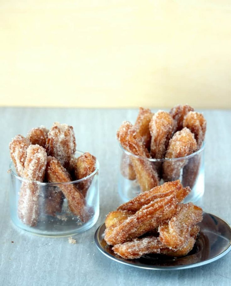 Mexican Churros with 3 Ingredients