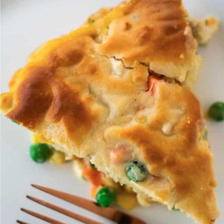 Easy Chicken Pot Pie With Bisquick Crust
