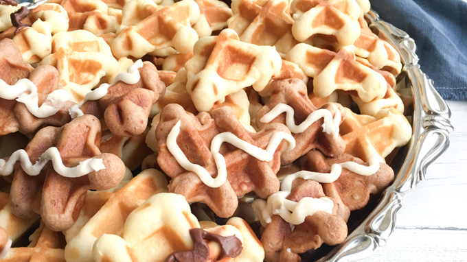 Easy waffle cookies recipe!