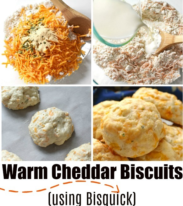 Easy to make Cheddar Biscuits