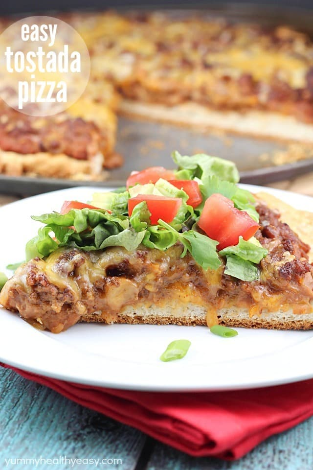Easy Tostada Pizza Recipe