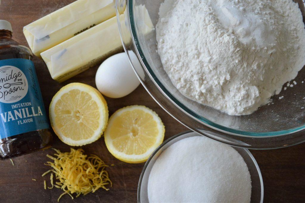 lemon sugar cookie ingredients