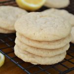 Soft & Chewy Lemon Sugar Cookies