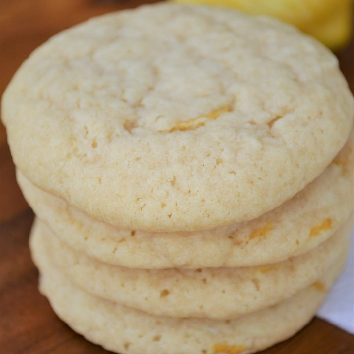 Soft & Chewy Lemon Sugar Cookie Recipe