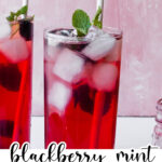 blackberry mint green tea