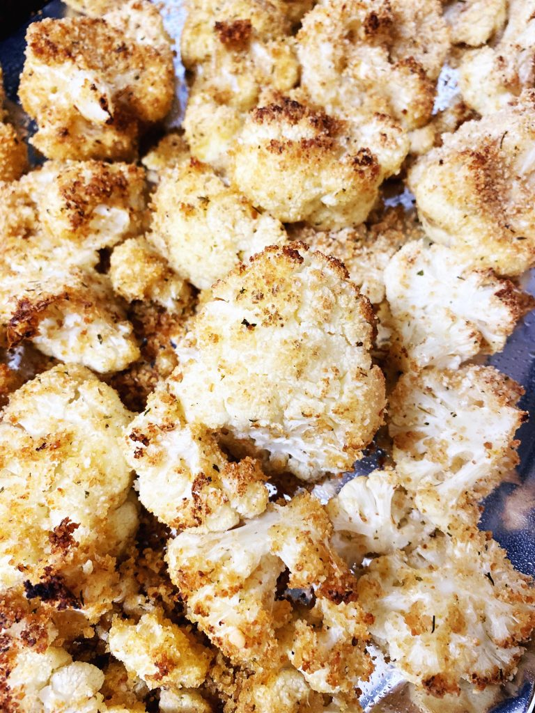 Enjoy This Delicious Side Dish Recipe Baked Breaded Cauliflower