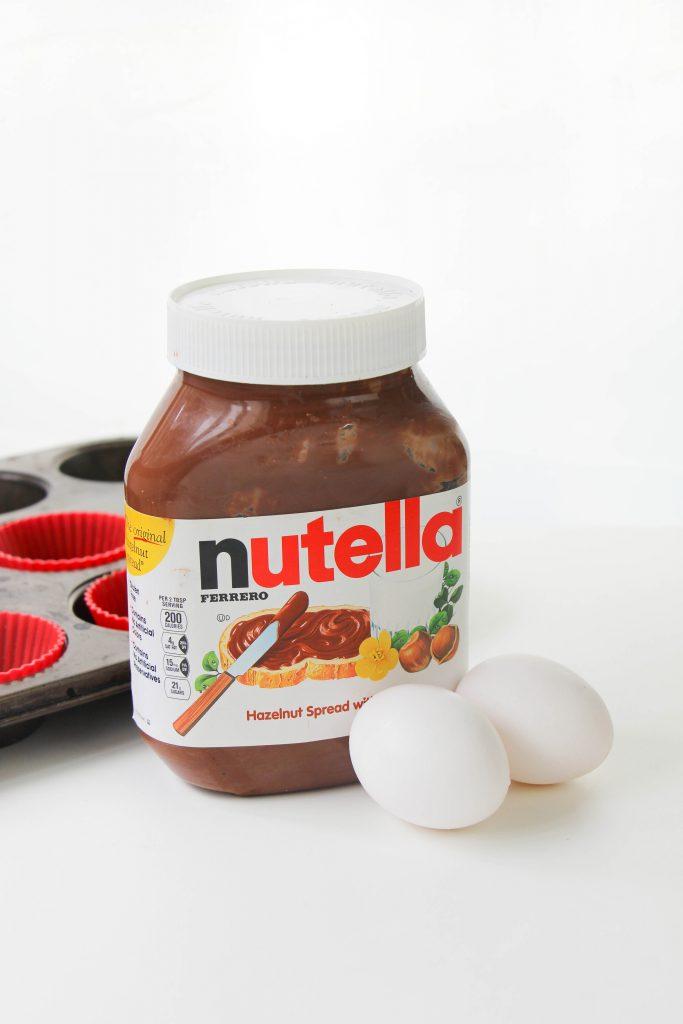 nutella brownies ingredients