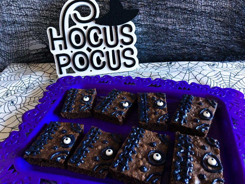hocus pocus brownies