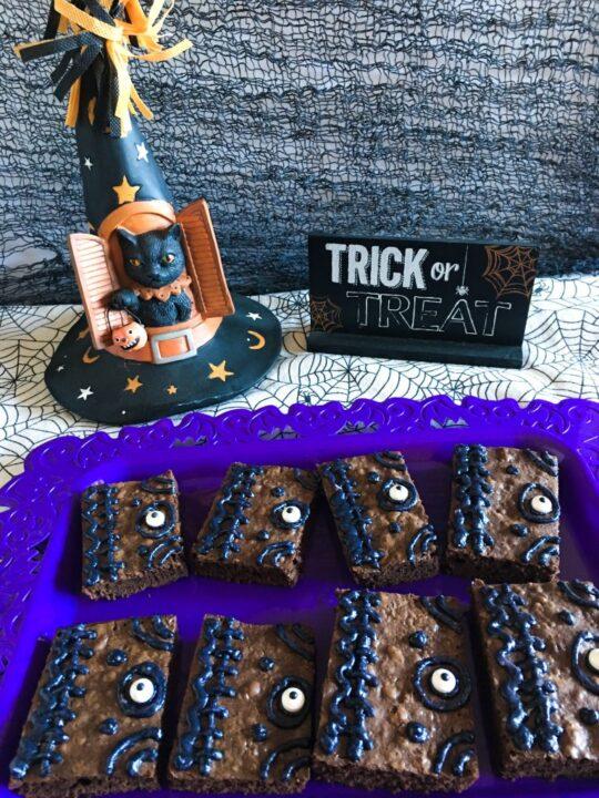 Halloween Hocus Pocus Spellbook Brownies Recipe