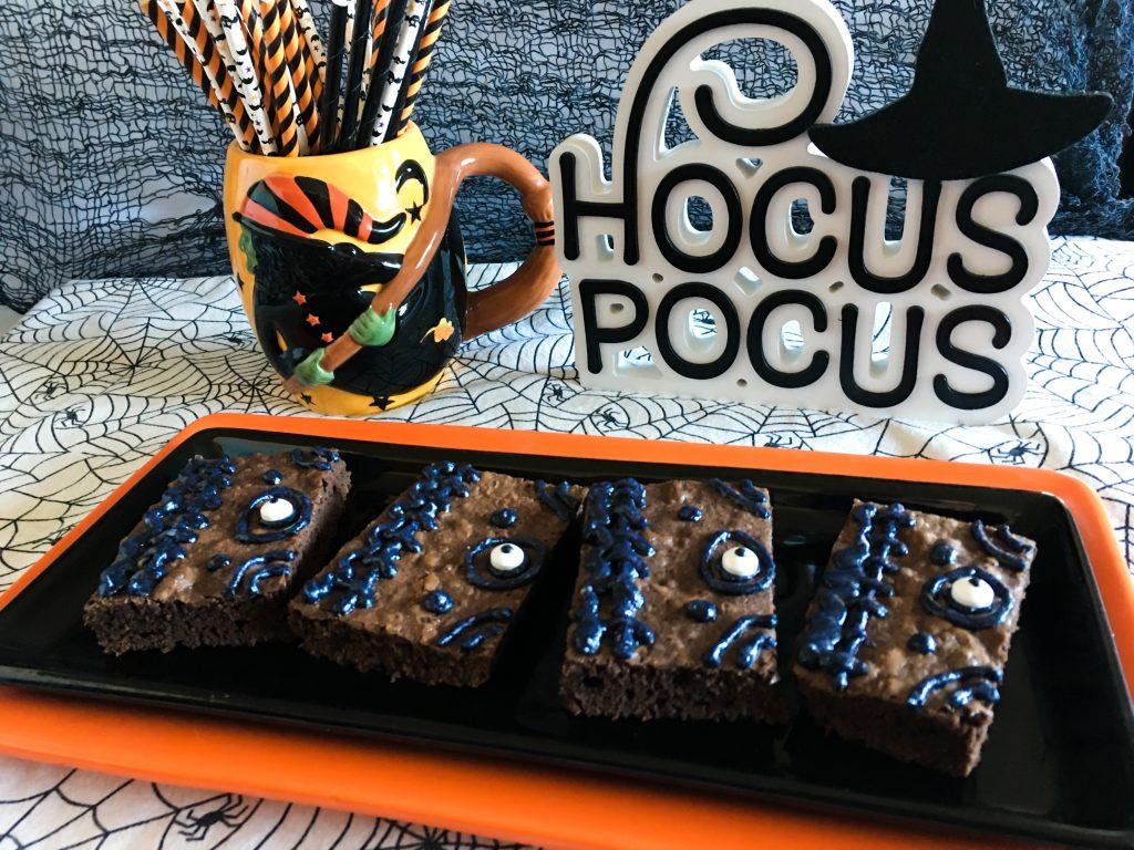 Hocus Pocus Winifred's Spellbook Brownies