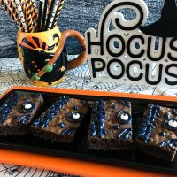 Hocus Pocus Winifred's Spellbook Brownies Recipe