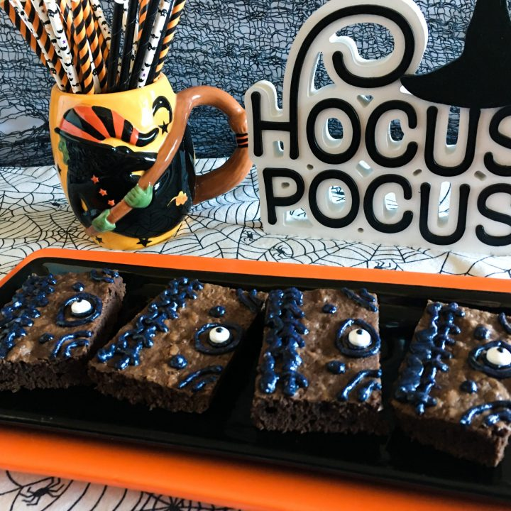 Hocus Pocus Brownies Recipe