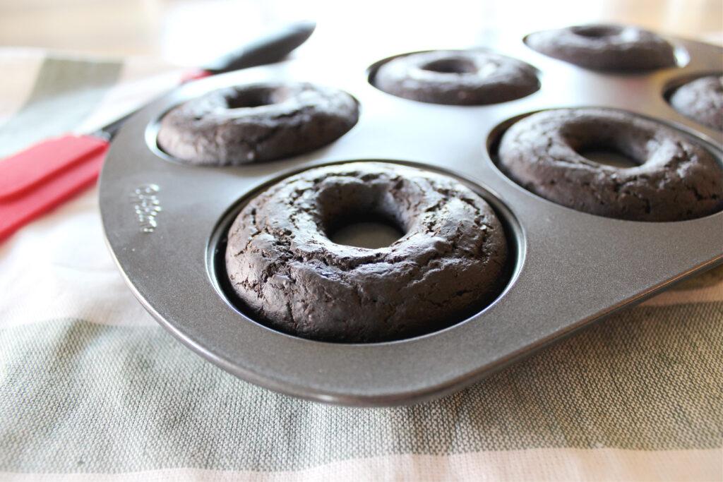 Peppermint Mocha Donuts
