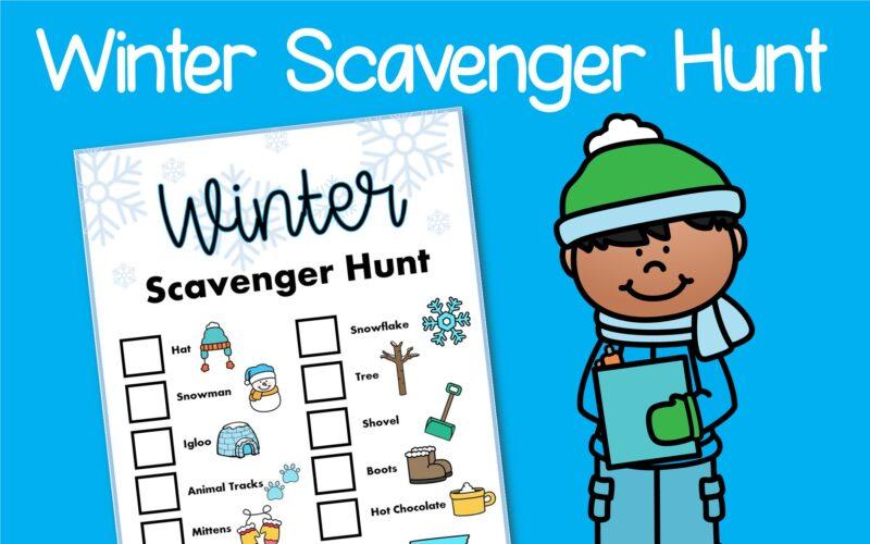 Free Printable – Winter Scavenger Hunt