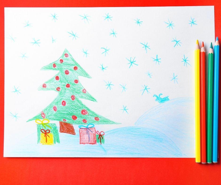 Christmas Drawing Challenge