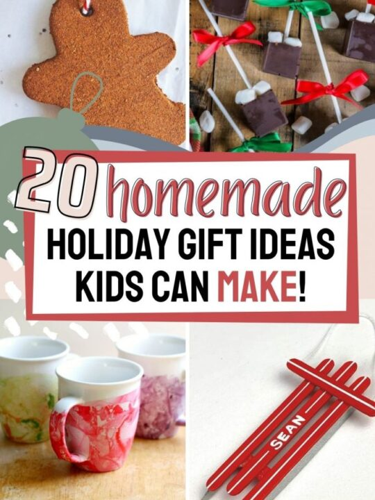 20 Holiday Gifts Kids Can Make