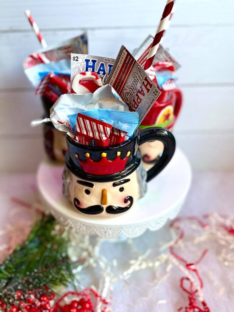 Hot Cocoa Gift Mug with Holiday Scratch-Offs from the New Jersey Lottery!