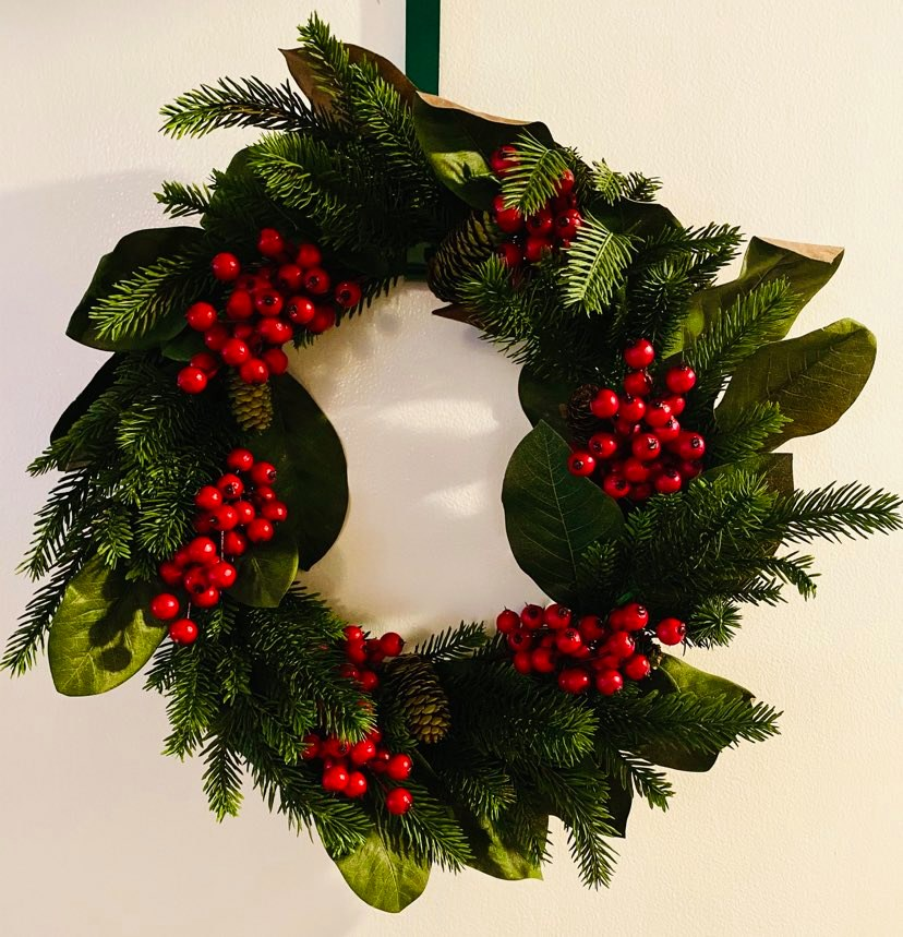 nearly natural wreath