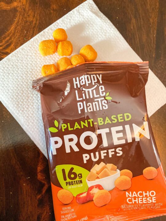 Why We are Loving HAPPY LITTLE PLANTS Protein Puffs