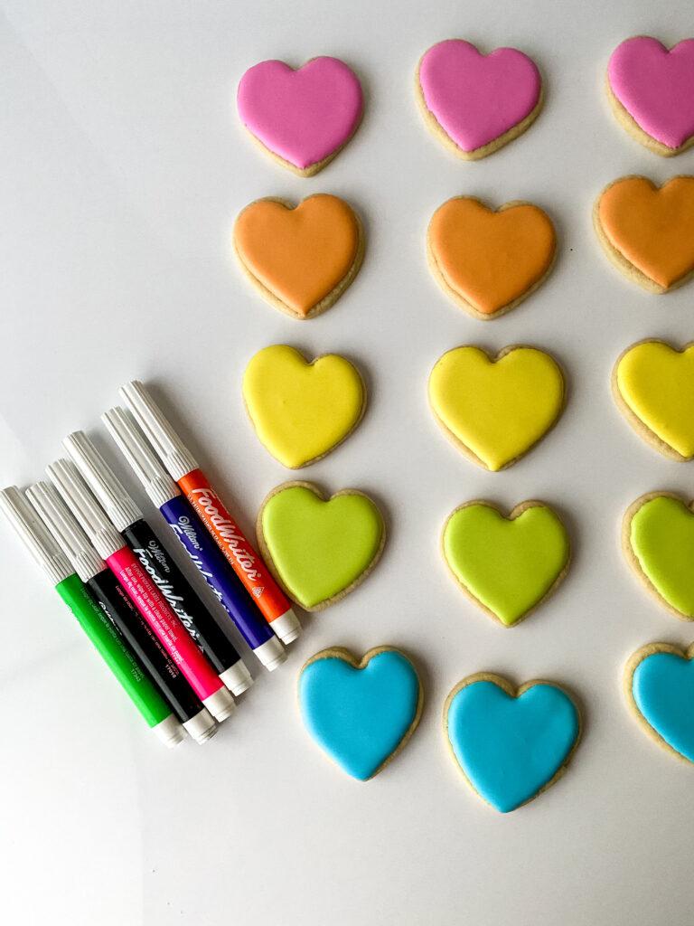 sugar cookie hearts