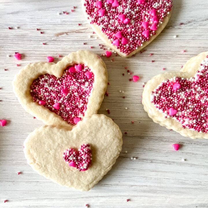 Adorable Edible Cookie Box for Valentine's Day