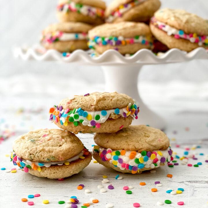 Cake Mix Whoopie Pies Recipe
