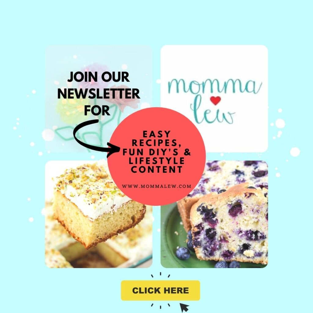 mommalew newsletter sign up