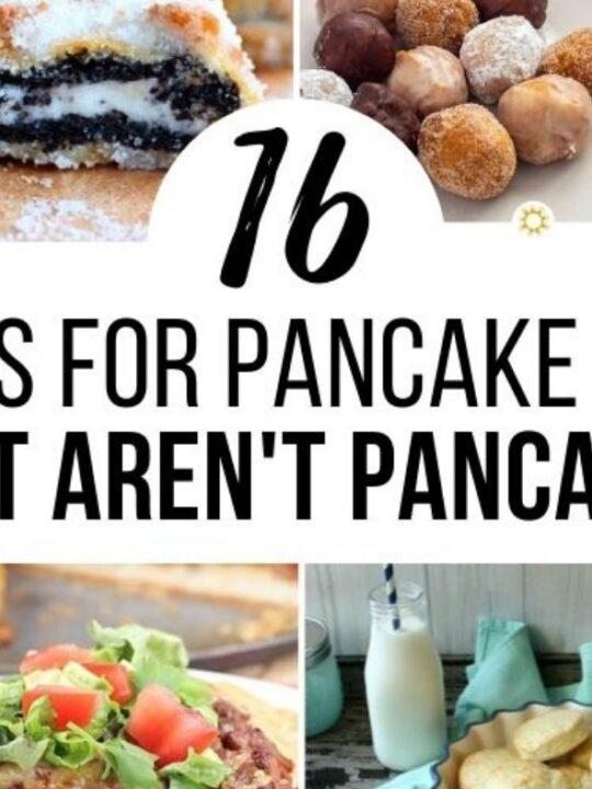 16 Recipes using Pancake Mix