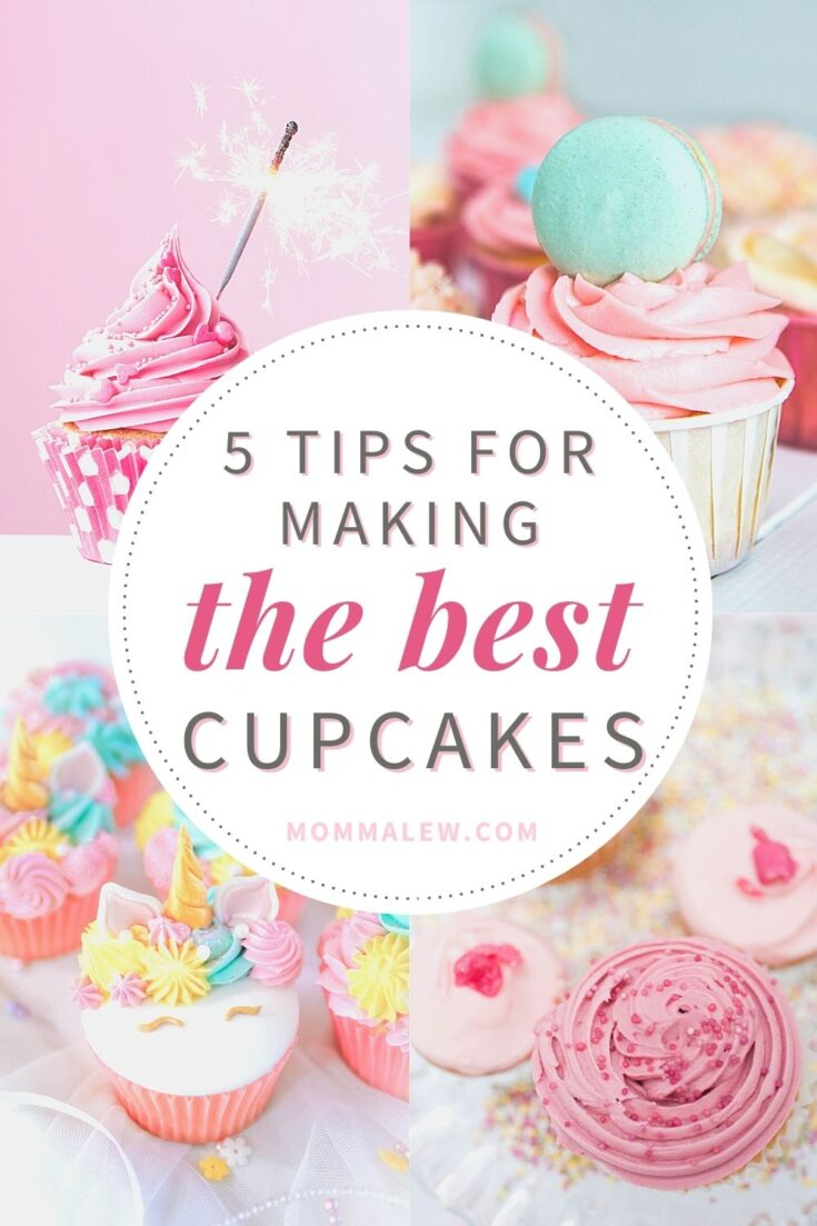 5 TIPS FOR MAKING THE BEST CUPCAKES