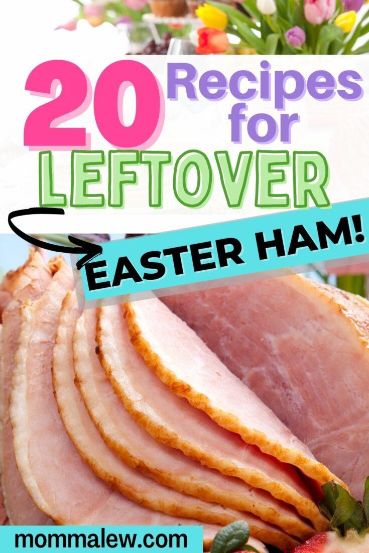 leftover easter ham recipes